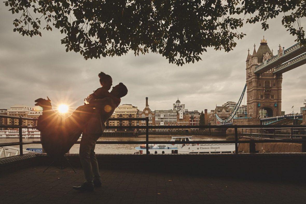 Preboda en Londres
